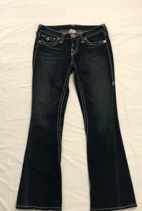 AUTHENTIC TRUE RELIGION WOMENS JEANS SIZE 28